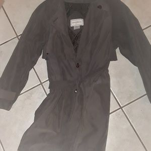 Jaclyn Smith Trench Coat M